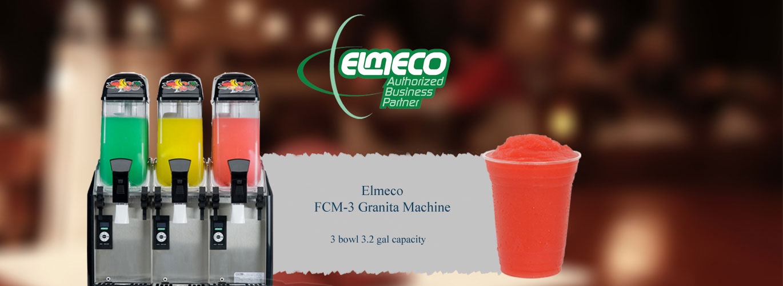 Elmeco Fc 3 Millennium Granita Machine Fruit N Ice